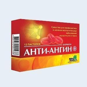 Как принимать таблетки «Анти-ангин»