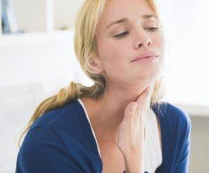 Как лечить ком в горле от нервов