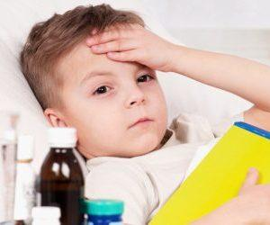 Как лечить у ребенка кашель и температуру?
