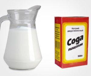 Как принимать молоко и соду от кашля