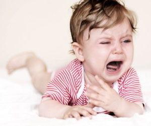 Почему ребенок когда плачет начинает кашлять
