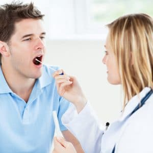 Анализ из горла на инфекции