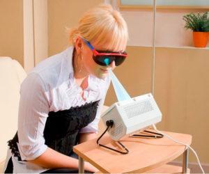 Как лечить горло аппаратом солнышко