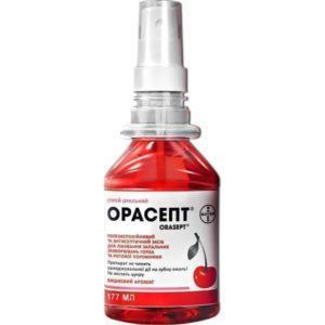 Как применять спрей для горла Орасепт