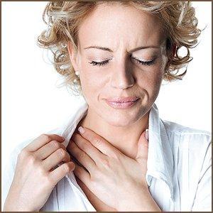 Что может мешать в горле при глотании