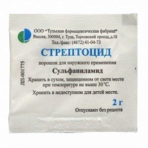 Как лечить горло порошком «Стрептоцид»