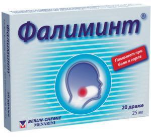 Как принимать таблетки Фалиминт