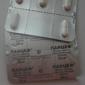 Как применять антибиотик Панцеф