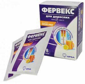 Как применять препарат Фервекс
